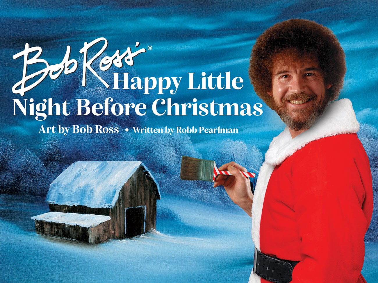 Bob Ross' Happy Little Night Before Christmas