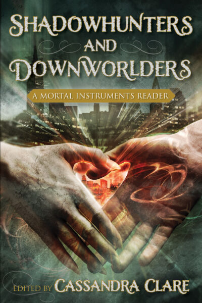 Shadowhunters and Downworlders book cover