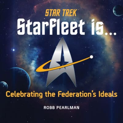 Book cover for Star Trek: Starfleet Is . . .