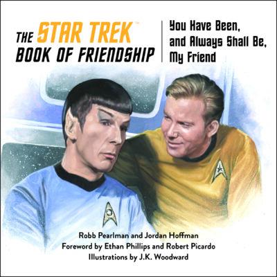 The Star Trek Book of Friendship cover