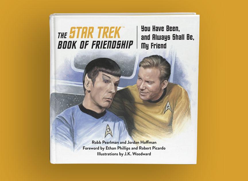 The Star Trek Book of Friendship cover reveal